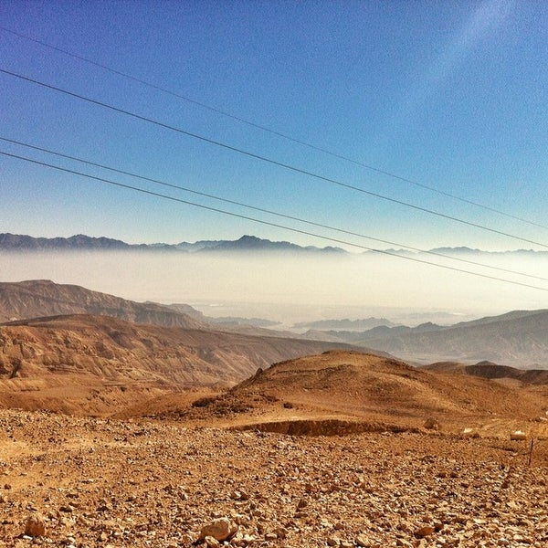 Photo taken at Eilat Mountains by Татьяна Л. on 2/11/2014