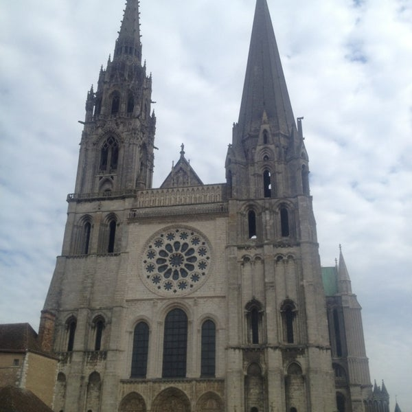 Photo taken at Cathedral Basilica of Our Lady by Linda on 5/26/2013