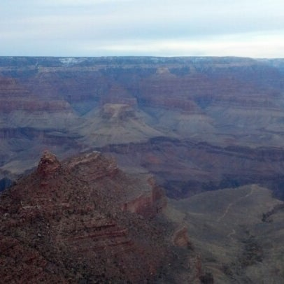 Photo taken at Grand Canyon National Park by Becky W. on 12/24/2012