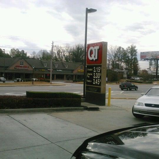 Photo taken at QuikTrip by Barbara G. on 12/15/2012