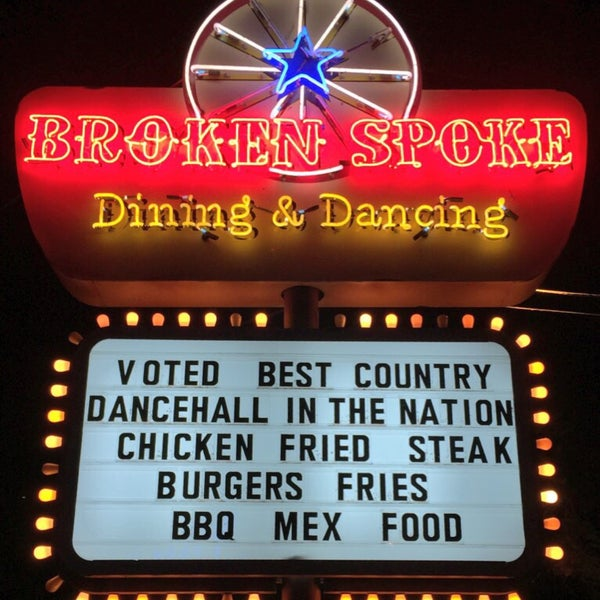 Photo taken at Broken Spoke by Chris A. on 1/18/2015