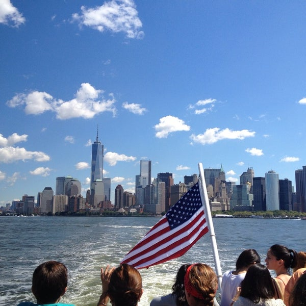 Photo taken at New York Harbor by Mike W. on 8/15/2013