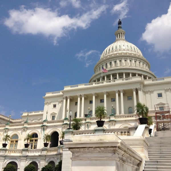 Photo taken at Rotunda of the U.S. Capitol by Erin H. on 7/20/2013