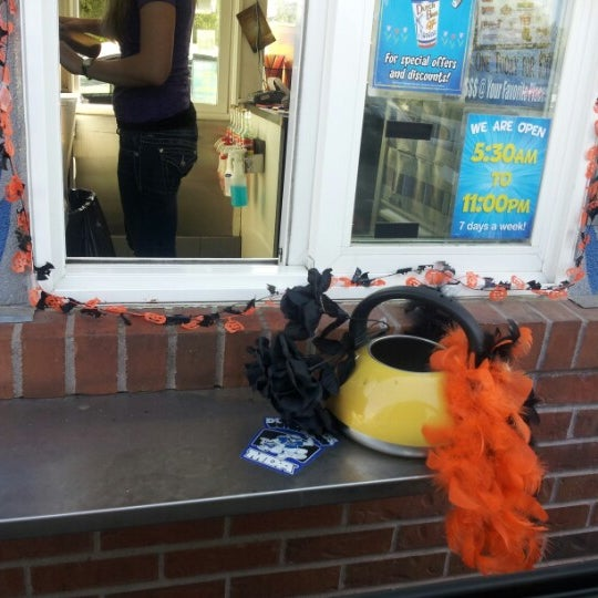 Photo taken at Dutch Bros. Coffee by Kate O. on 10/17/2012