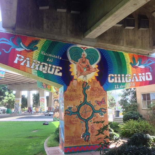 Photo taken at Chicano Park by Rafael M. on 7/31/2014