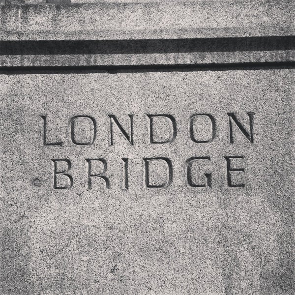 Photo taken at London Bridge by N. on 7/18/2013
