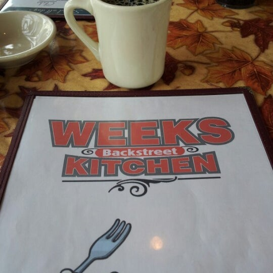 Photo taken at Week's Kitchen by Kevin D. on 10/31/2012