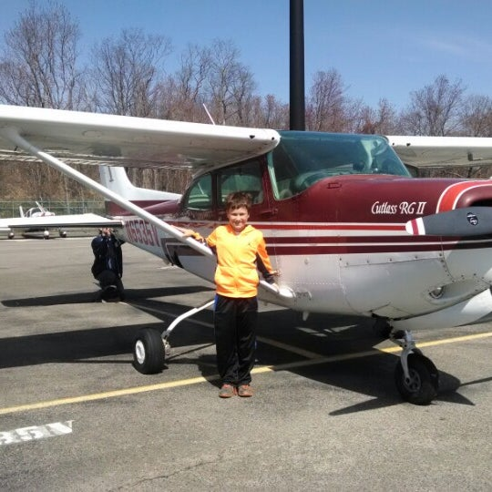 Photo taken at Westchester County Airport (HPN) by lynn on 4/12/2014