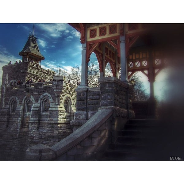 Photo taken at Belvedere Castle by Robert G. on 3/16/2014