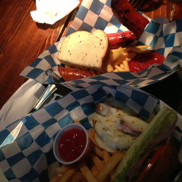 Good sausages! Had euro burger yummy!