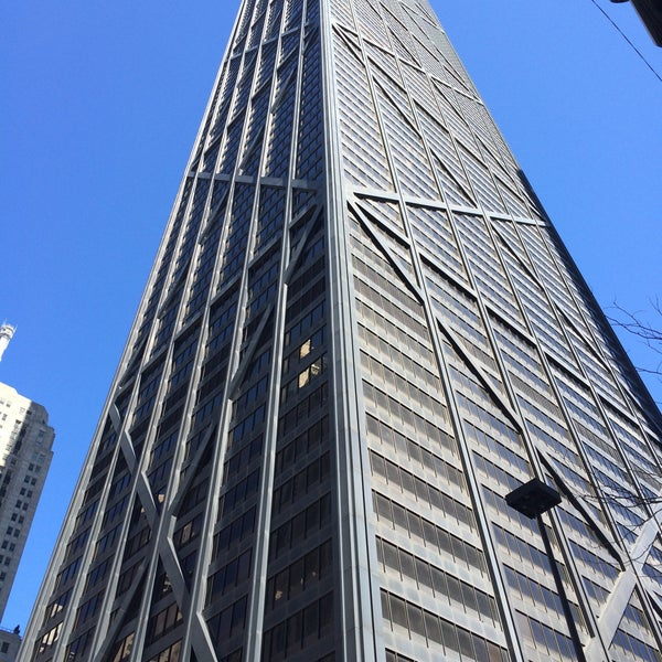 Photo taken at John Hancock Center by Elizabeth P. on 3/28/2015