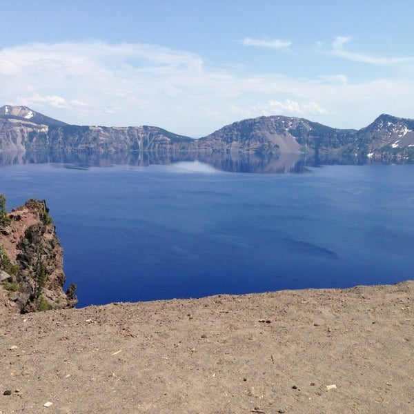 Photo taken at Crater Lake National Park by Kymberli C. on 7/2/2013
