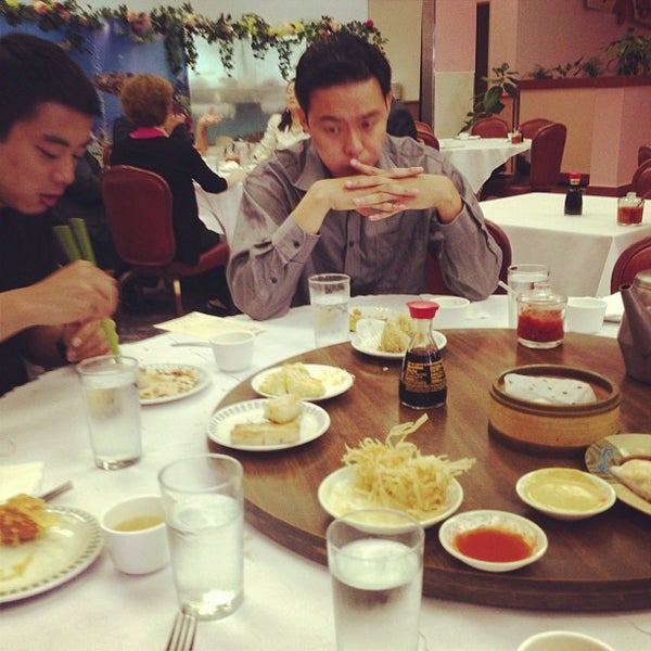 Photo taken at Canton Dim Sum & Seafood Restaurant by Yue T. on 8/13/2013