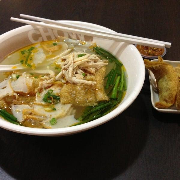Photo taken at Chow Food Court by bibi h. on 4/17/2013