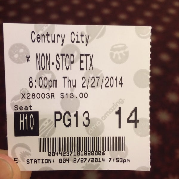 Photo taken at AMC Century City 15 by Aaron G. on 2/28/2014