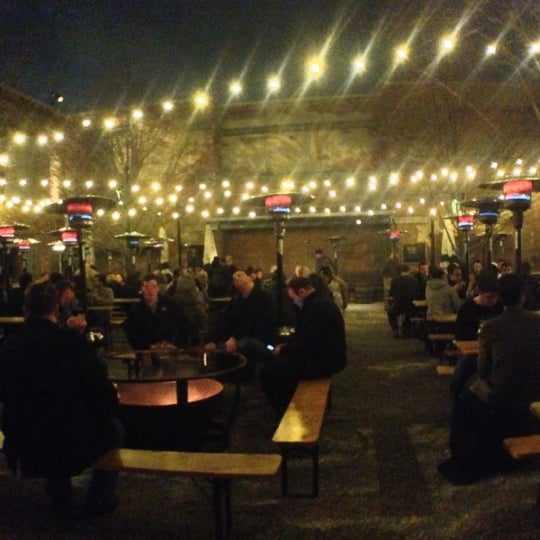 Photo taken at Frankford Hall by Kris M. on 12/1/2012