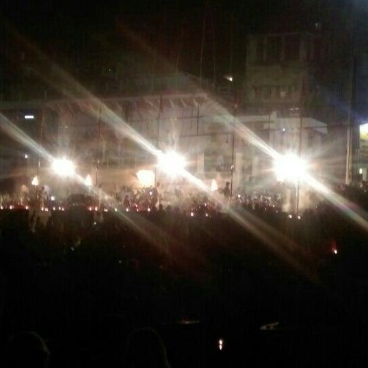 Photo taken at Dasaswamedh Ghat by Bhakti A. on 10/20/2015