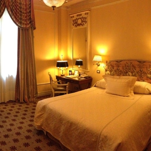 Photo taken at Hotel Grande Bretagne by Edouard N. on 1/29/2013