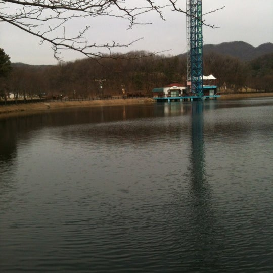 Photo taken at Yuldong Park by sooreeC on 3/19/2012