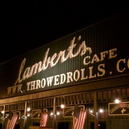 Photo taken at Lambert's Cafe by John D. on 8/28/2011