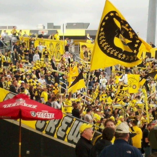 Photo taken at MAPFRE Stadium by Jonathan G. on 3/24/2012