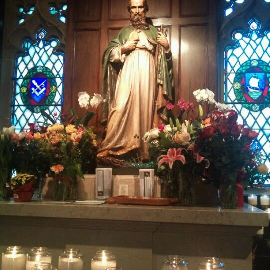 Photo taken at St. Dominic's Catholic Church by Butter C. on 1/30/2012