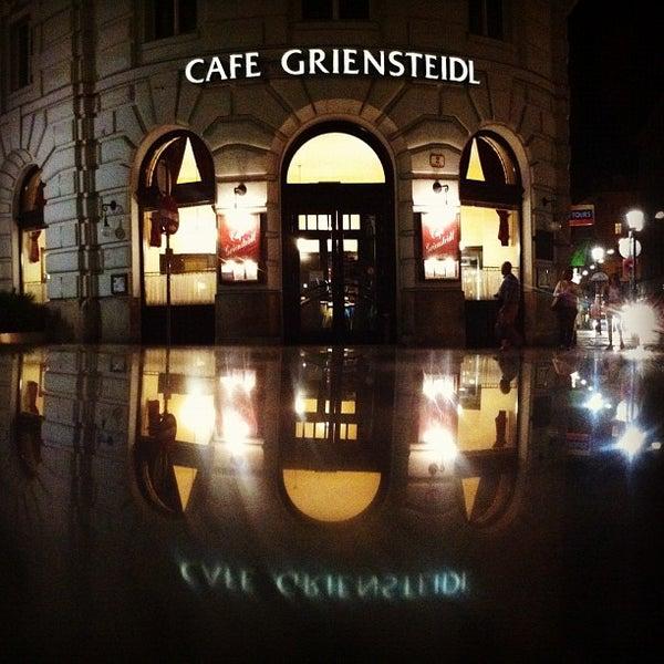 Photo taken at Cafe-Restaurant Griensteidl by Kryštof N. on 7/6/2012