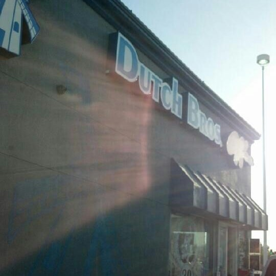 Photo taken at Dutch Bros. Coffee by David J. F. on 4/7/2012