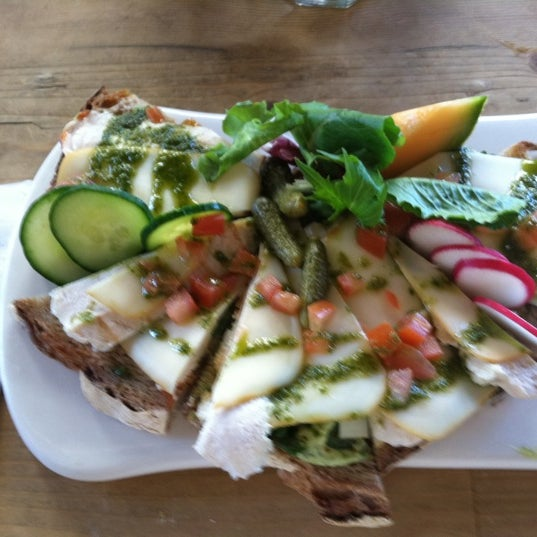 Photo taken at Le Pain Quotidien by Leila on 6/23/2012