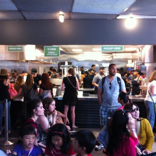 Photo taken at Shake Shack by Dan N. on 6/2/2012
