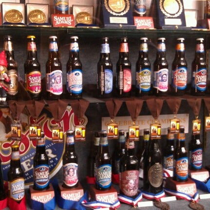Photo taken at Samuel Adams Brewery by Stacey W. on 8/20/2012