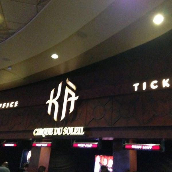 Photo taken at MGM Grand Hotel & Casino by Bridget M. on 4/5/2013