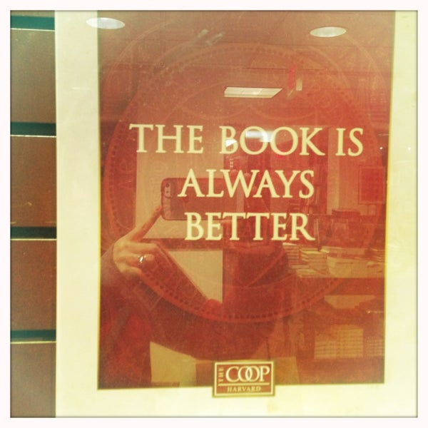 Photo taken at Harvard Coop Society Bookstore by Georgie B. on 4/7/2013