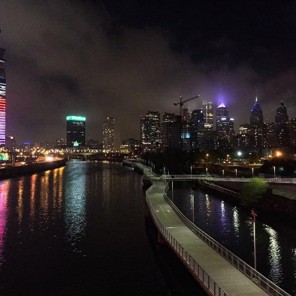Photo taken at South Street Bridge by Meg K. on 4/27/2016
