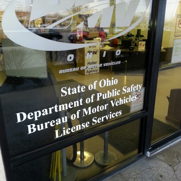 ohio bmv license agency driver exam station title