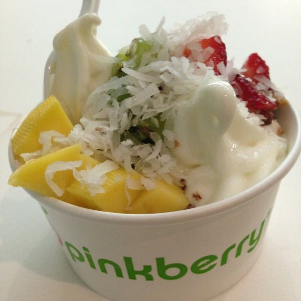 Photo taken at Pinkberry by Krissy D. on 8/24/2013