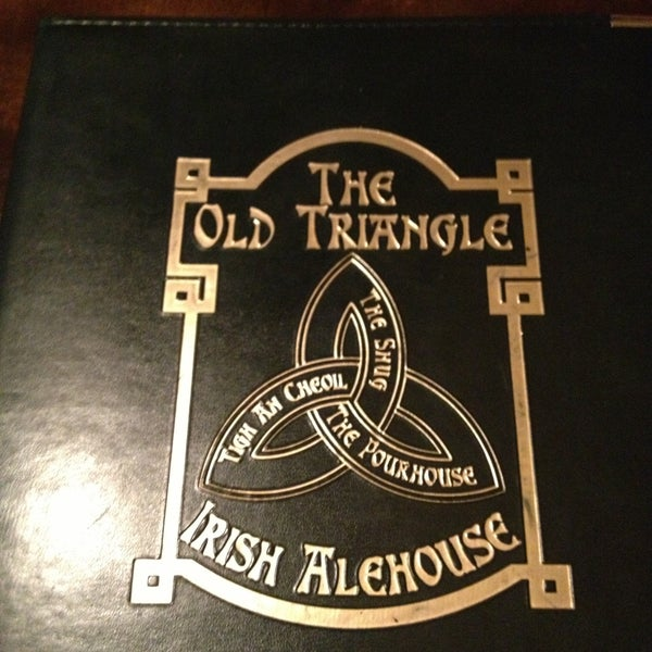 Photo taken at The Old Triangle Irish Alehouse by Stephanie S. on 4/28/2013