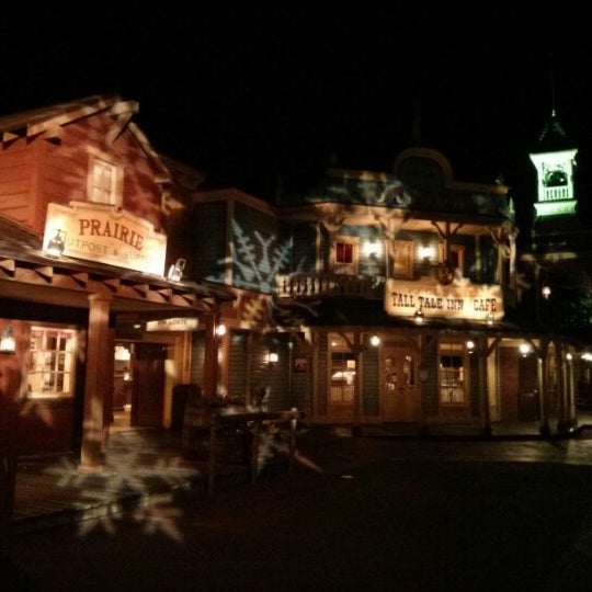Photo taken at Frontierland by Vincent S. on 11/30/2012