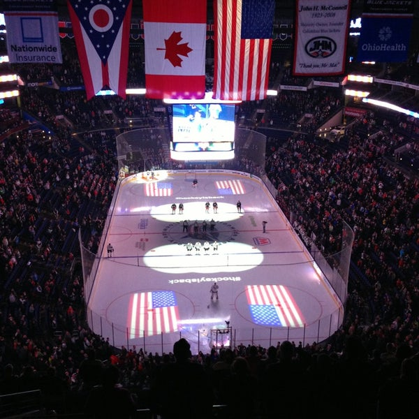 Photo taken at Nationwide Arena by Johanna J. on 1/29/2013