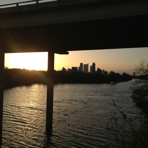 Photo taken at Lady Bird Lake Trail by Bryan S. on 3/24/2013