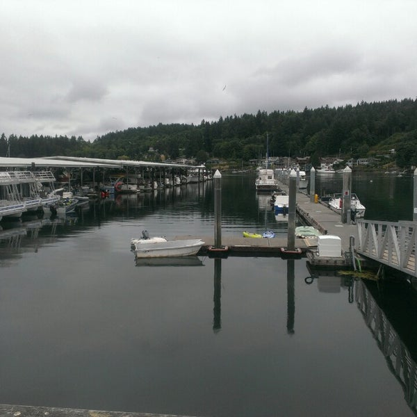 Photo taken at Gig Harbor Waterfront by Robert S. on 8/2/2013