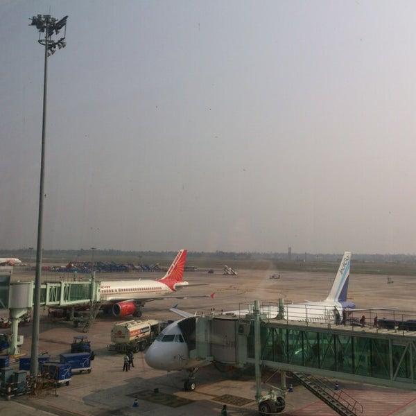 Photo taken at Netaji Subhash Chandra Bose International Airport (CCU) by Sruti A. on 2/10/2014