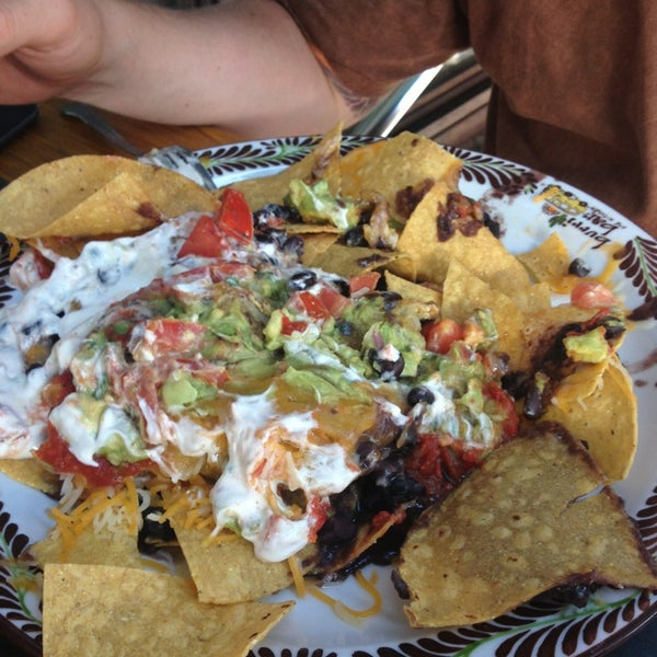These are the disgusting nachos you have to look forward to. Don't bother.