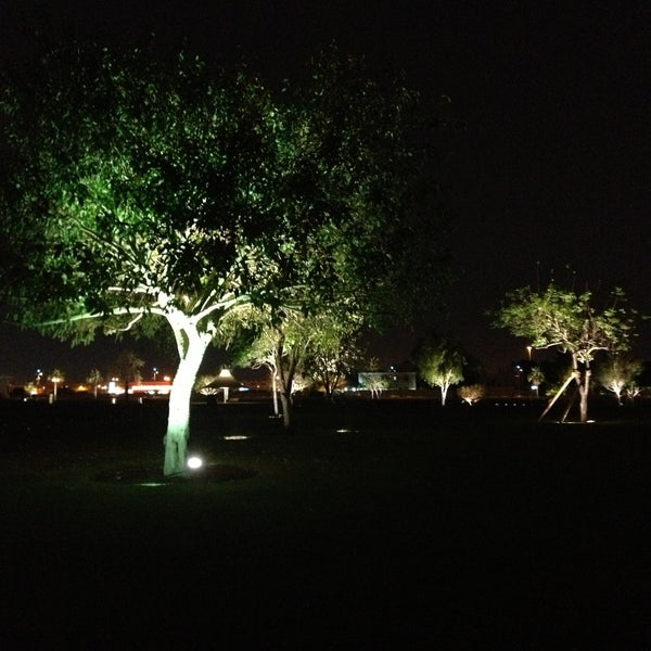 Photo taken at Aspire Park | حديقة اسباير by Mohammed A. on 4/24/2013