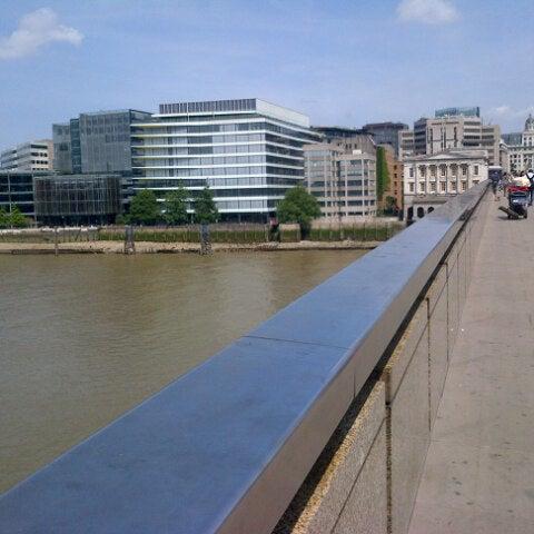 Photo taken at London Bridge by Sagar J. on 7/14/2013