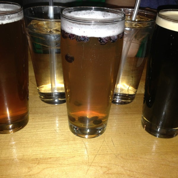 Photo taken at Boston Beer Works by k r y s t a l on 4/6/2013