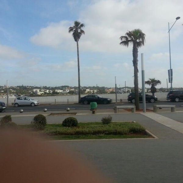 Photo taken at La Corniche de Casablanca by Du S. on 4/24/2013