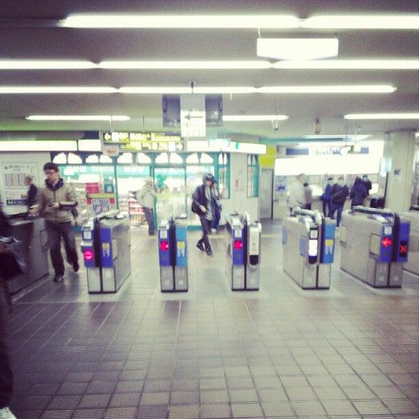 Photo taken at 阪急 南茨木駅 (Minami-ibaraki Sta.) (HK-68) by Juner C. on 12/2/2012