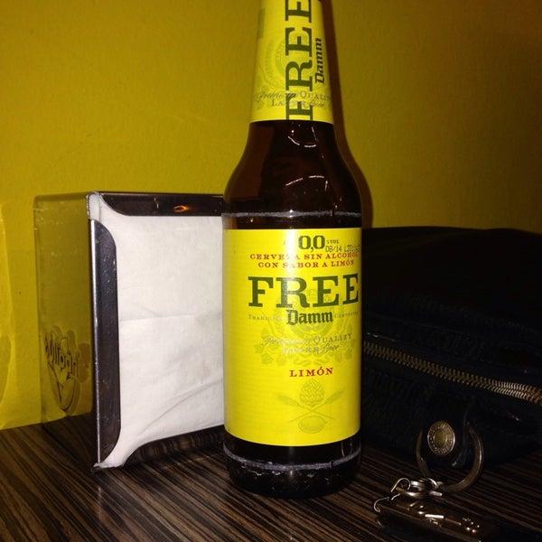 Fantatastica free 0,0 free damm cerveza con limon