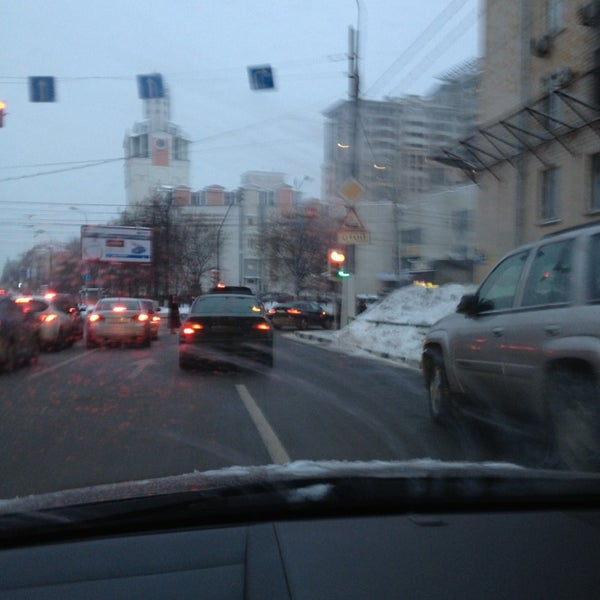 Photo taken at Улица Дмитрия Ульянова by Chups on 1/28/2013